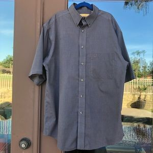 Turnbury Easy Care Grey Button-up Shirt